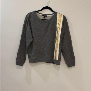 J. Crew sweater with stripe detail